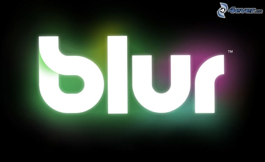 Blur, logo, PC game