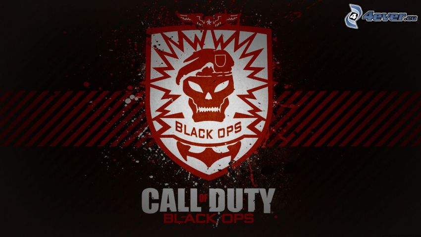 Call Of Duty Black Ops Zombies Logo