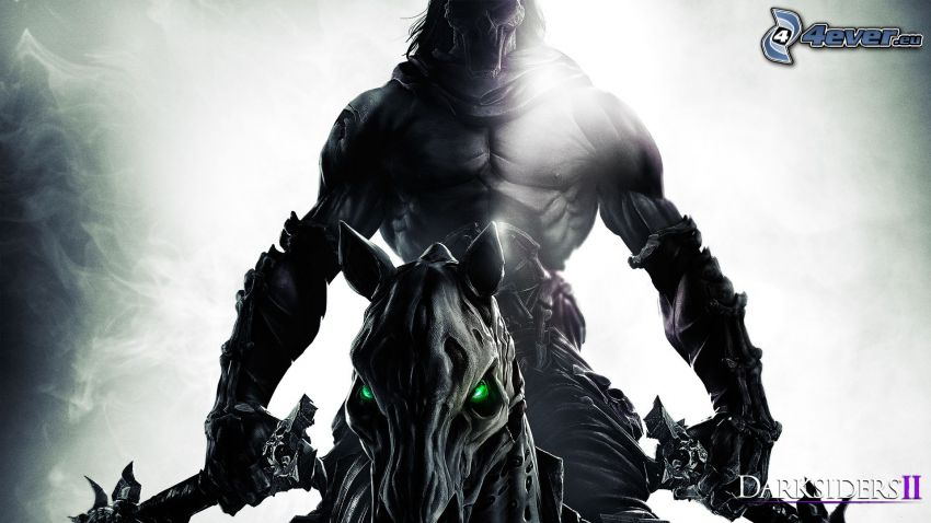 Darksiders II, dark warrior