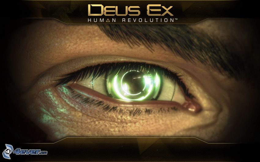 Deus Ex: Human Revolution, green eye