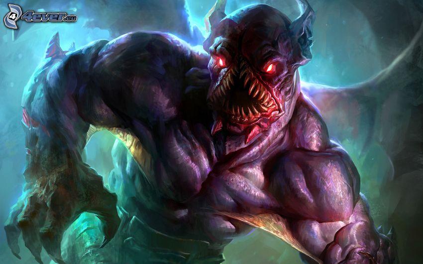 Dota 2, monster