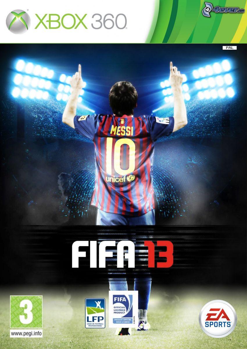 FIFA 13, Xbox 360, Messi