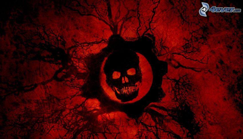 Gears of War, skull