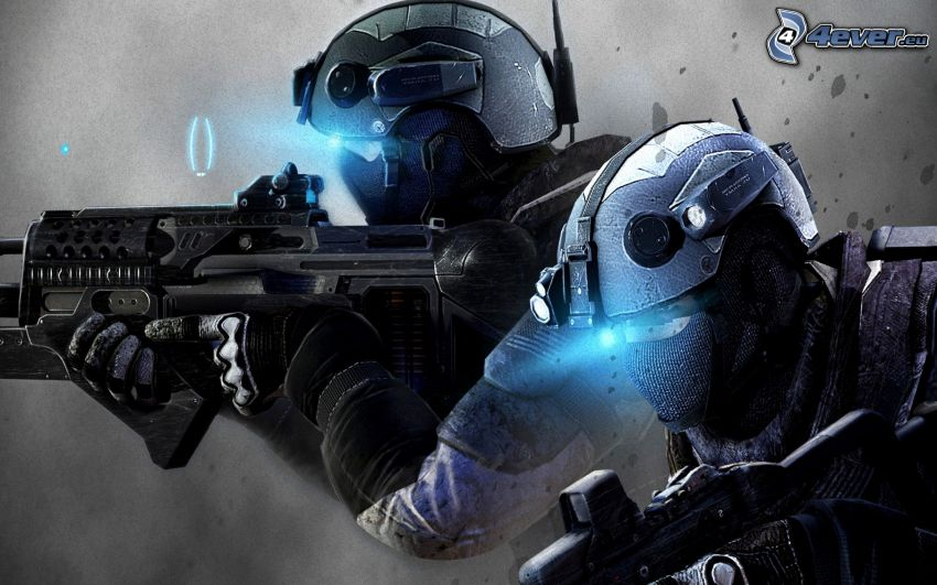 Ghost Recon: Future Soldier, soldiers