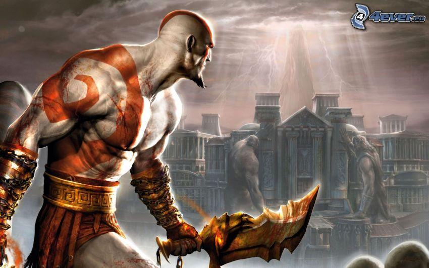 God of War 2, warrior