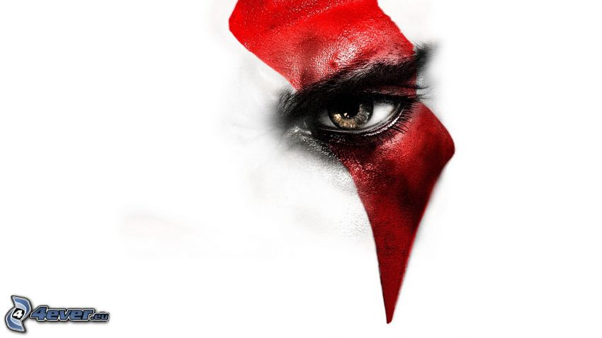 God of War: Ascension, eye