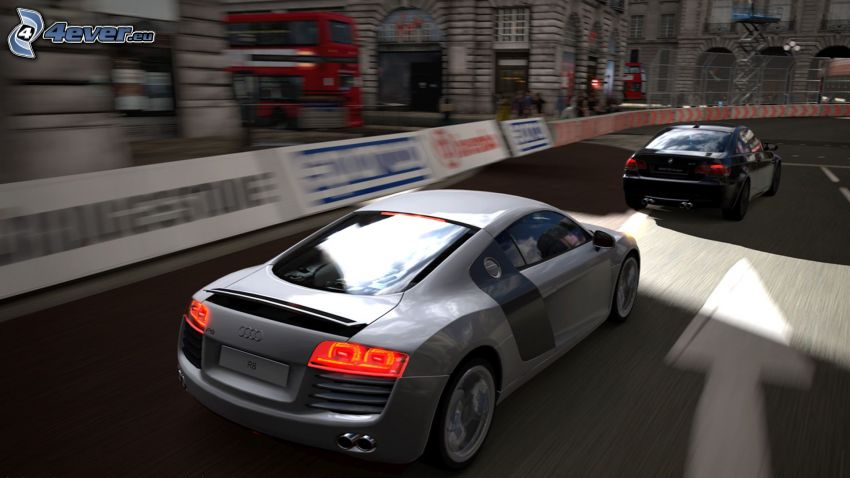 Gran Turismo 5, race, Audi R8