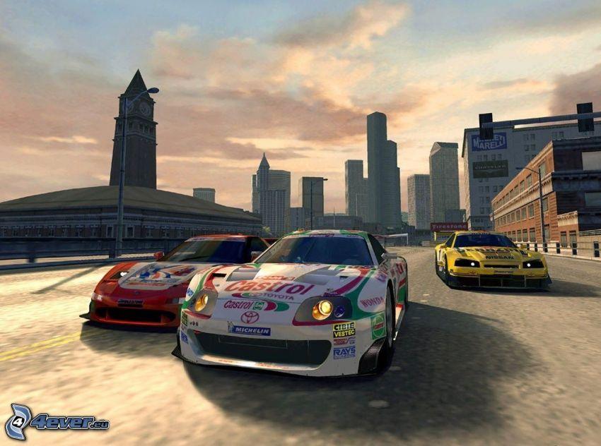 Gran Turismo 5, racing car, Toyota, Nissan
