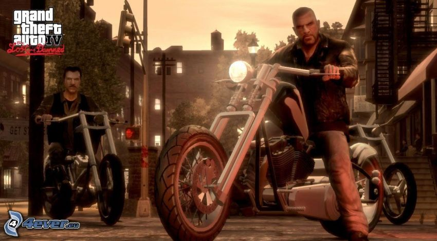Grand Theft Auto IV: The Lost and Damned, gangsters, chopper