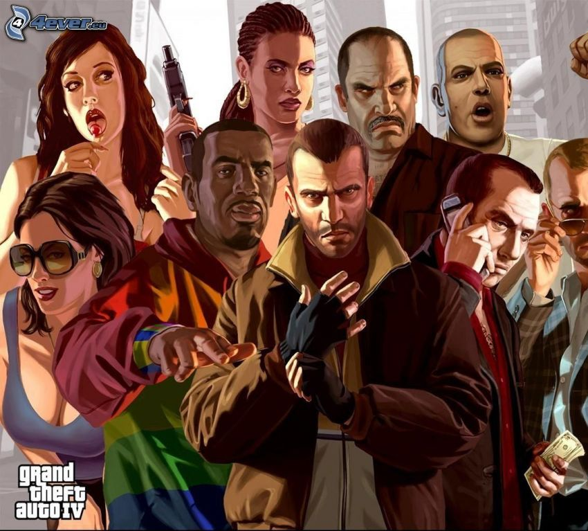 Grand Theft Auto IV: The Lost and Damned, people