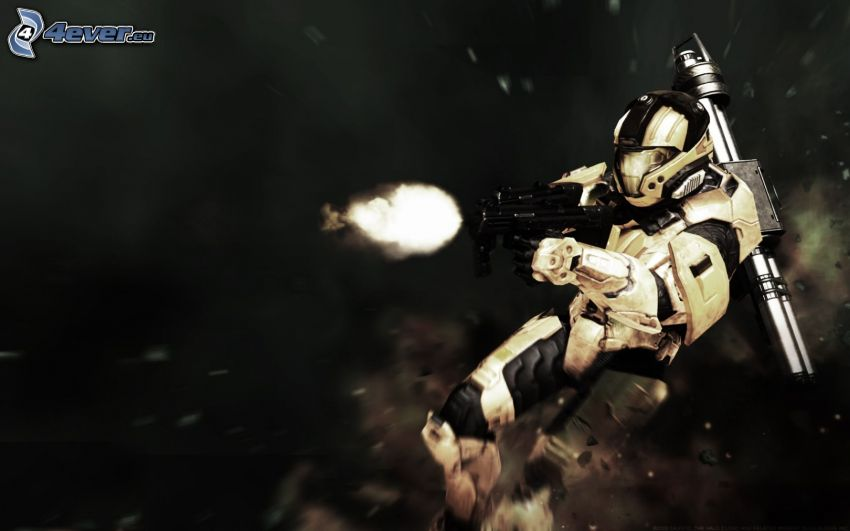 Halo 3: ODST, shooting