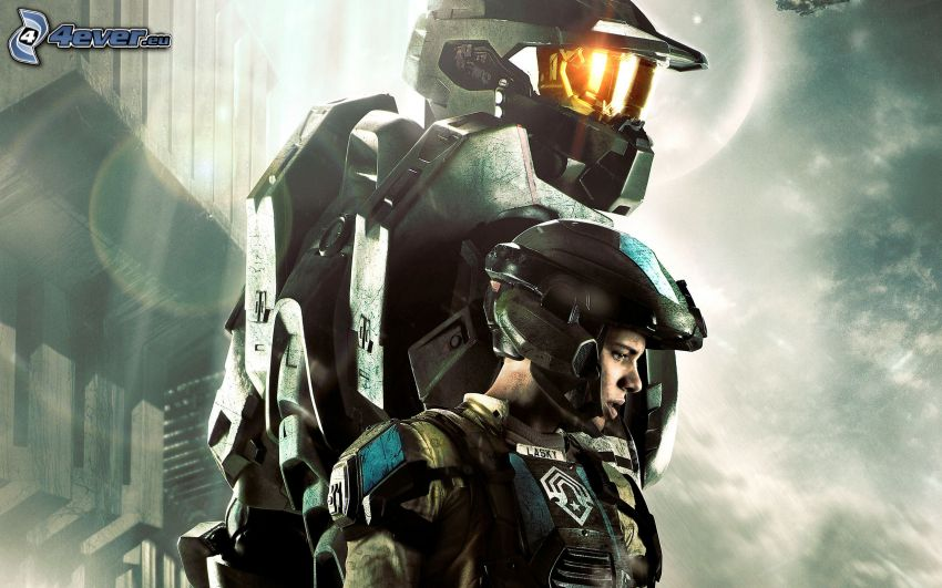Halo 4, sci-fi soldier