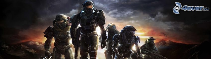 Halo: Reach, sci-fi soldier
