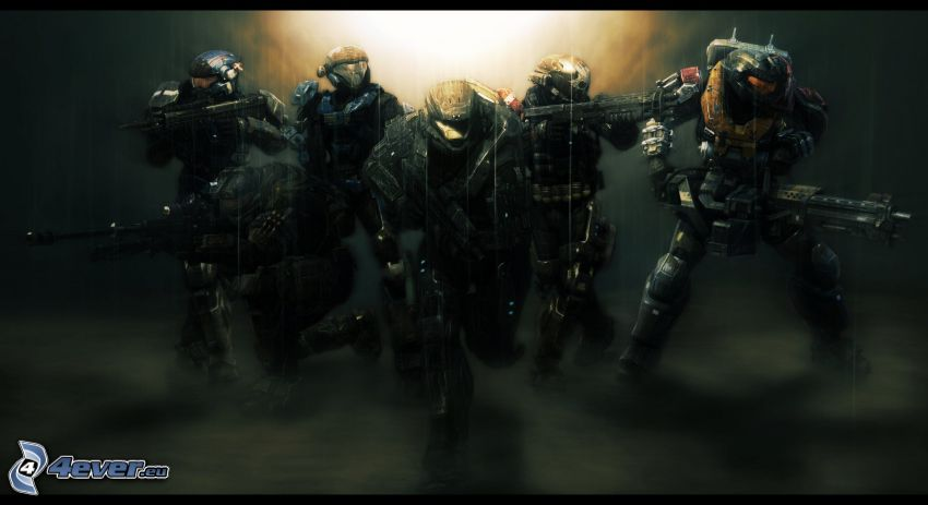 Halo: Reach, soldiers