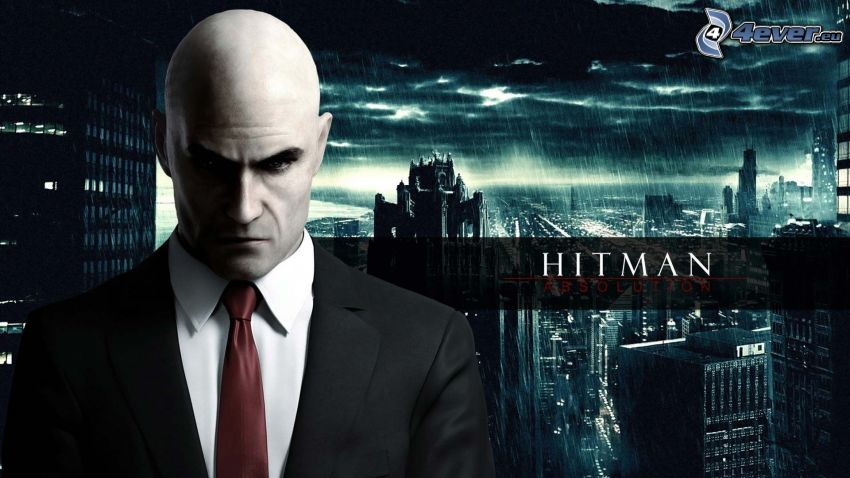 Hitman, man in suit