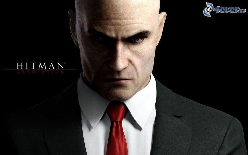 Hitman, man in suit