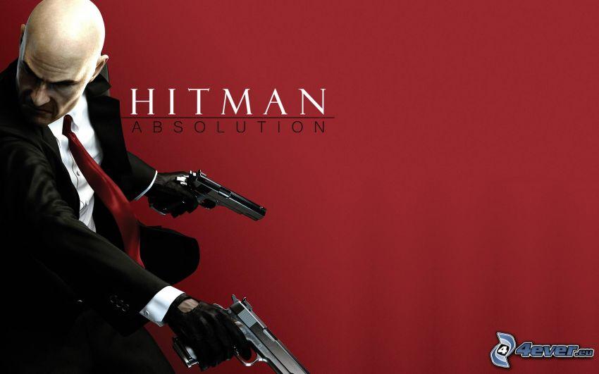 Hitman: Absolution, man with a gun