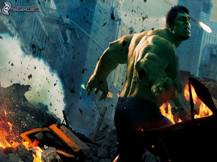 Hulk, The Avengers
