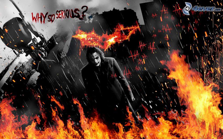 Joker, fire