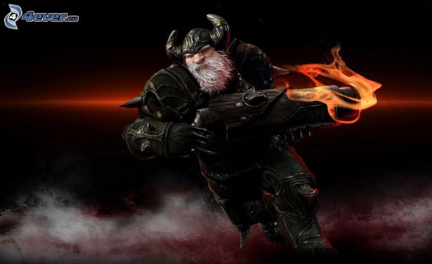 Karos, fantasy warrior