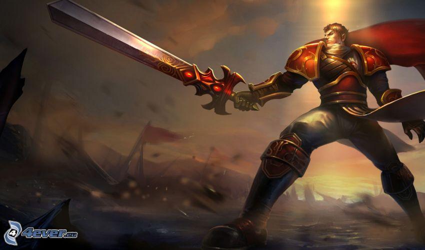 League of Legends, warrior