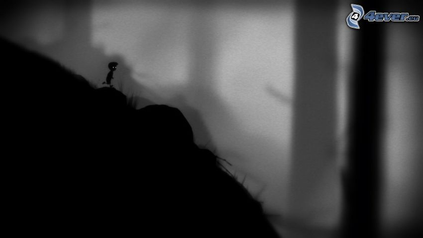 Limbo, character, silhouette