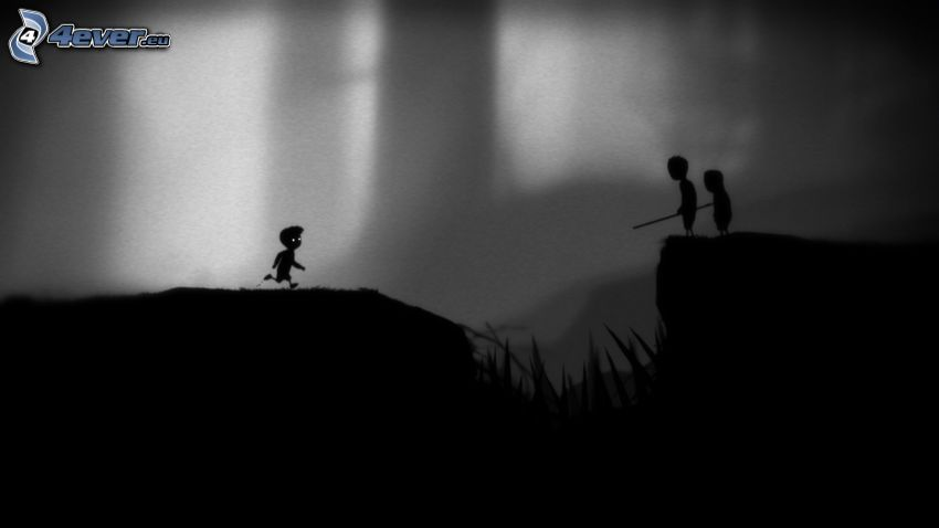 Limbo, silhouette, figures