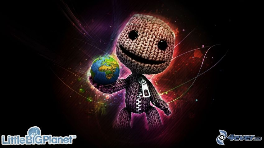 Little Big Planet, character, planet Earth