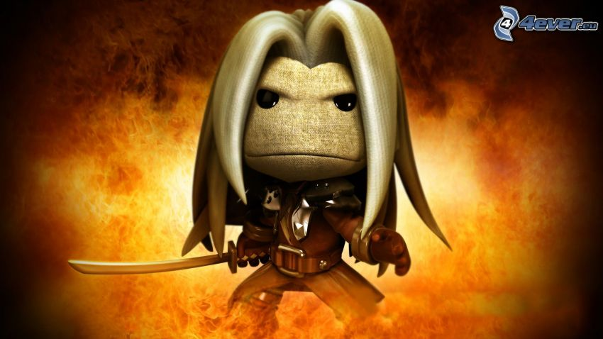 Little Big Planet, warrior, character