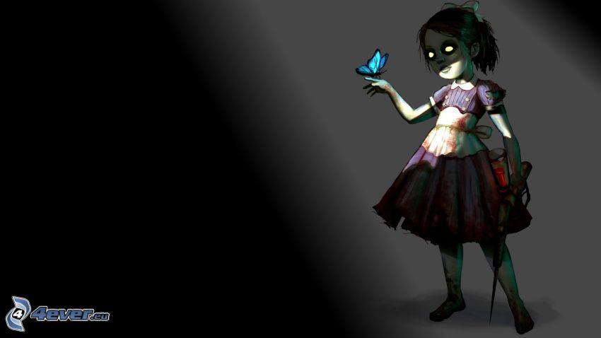 Little Sisters, Bioshock 2, anime girl