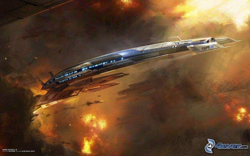 Mass Effect 3, spaceship