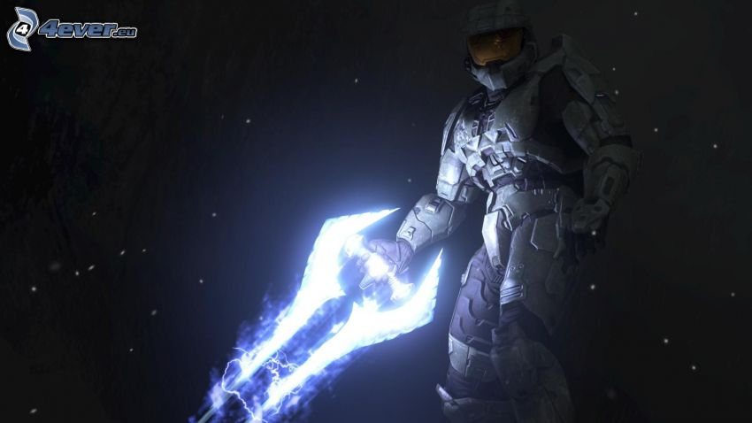 Master Chief - Halo 4, sci-fi soldier