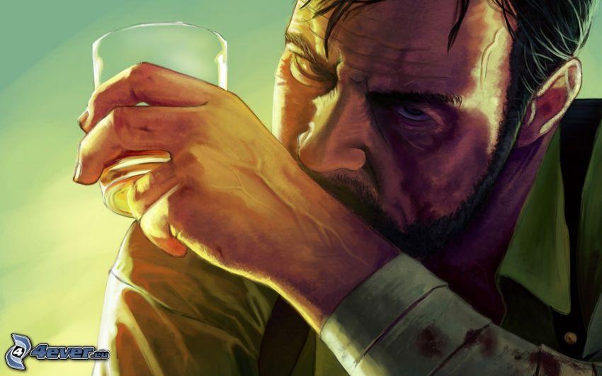 Max Payne 3, man