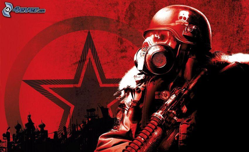 Metro 2033, gas mask