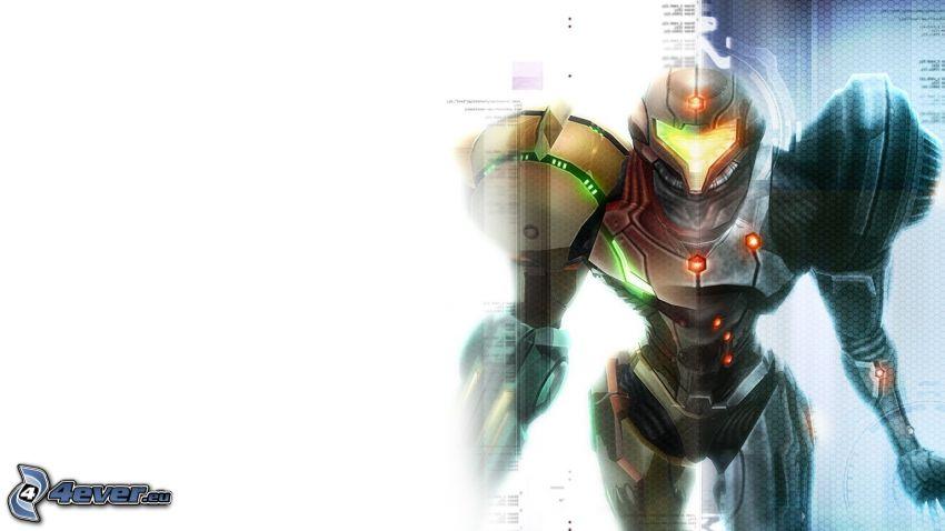 Metroid, robot