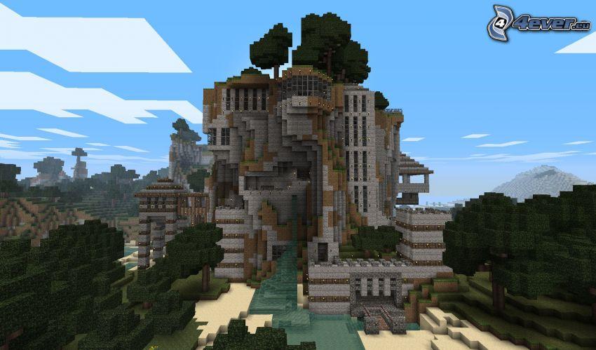 Minecraft, building