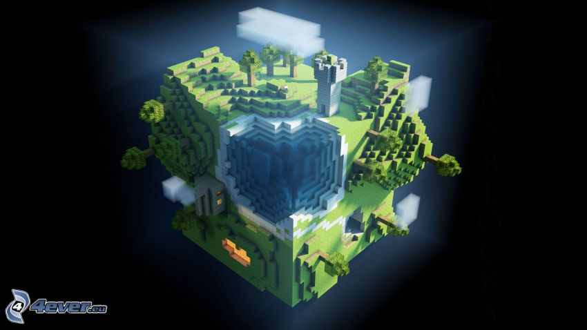 Minecraft, planet Earth