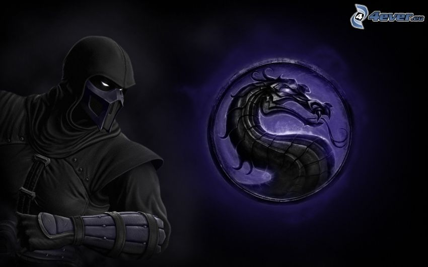 Mortal Kombat, cartoon dragon