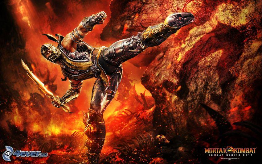 Mortal Kombat, warrior