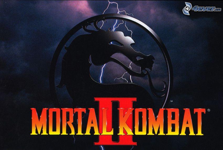 Mortal Kombat II, black dragon