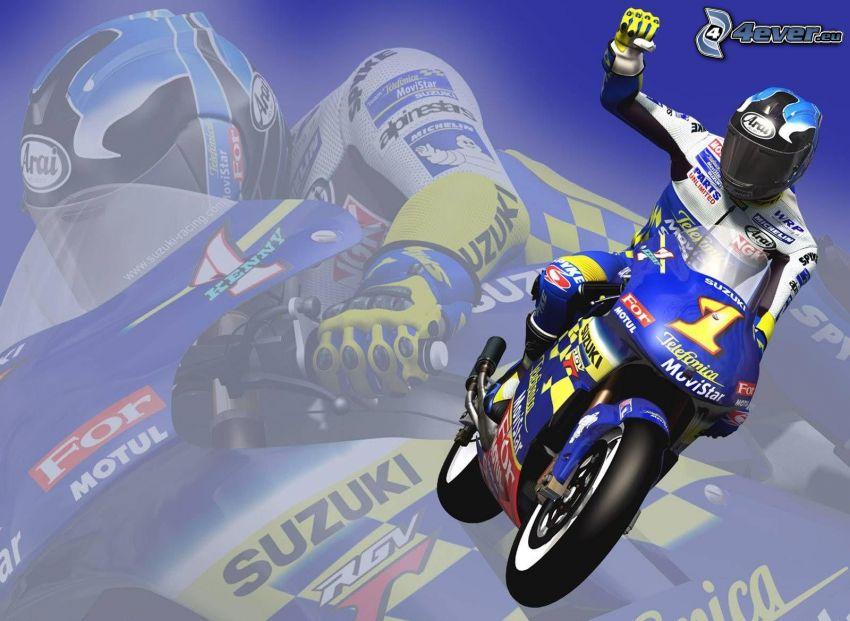 Moto GP, game, motocycle