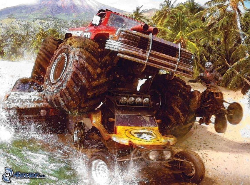 Motor Storm, monster truck