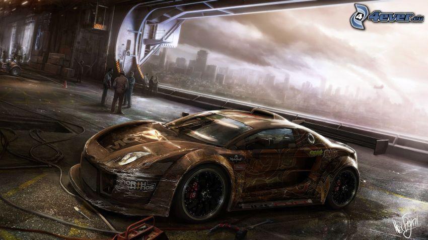 MotorStorm: Apocalypse, car
