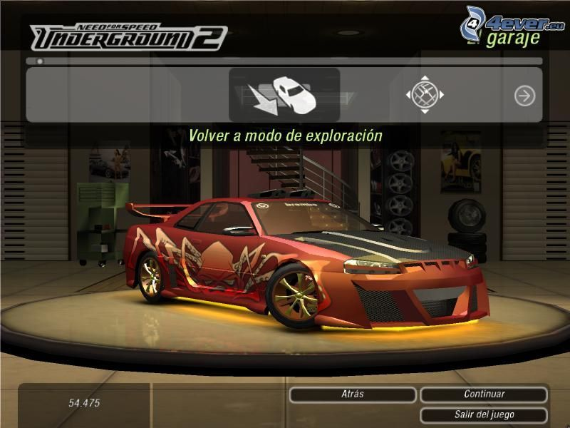 Need For Speed - Underground 2, Nissan, PC game