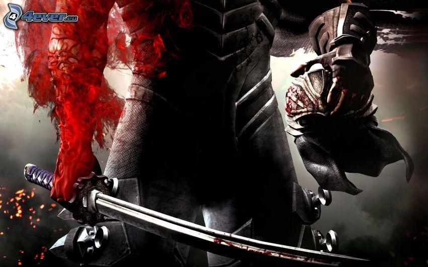 Ninja Gaiden 3, katana