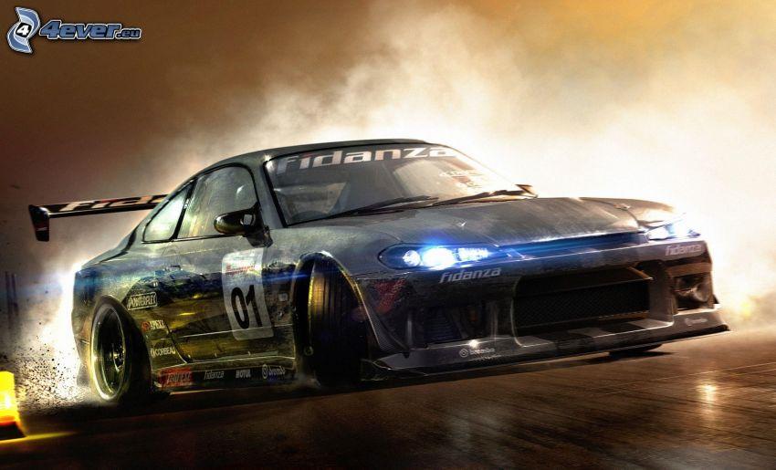 Race Driver: GRID, drifting