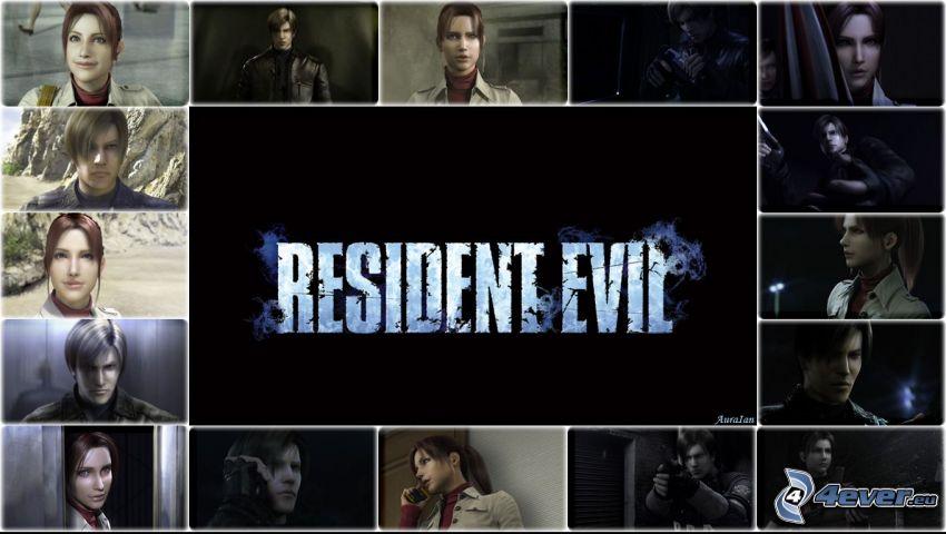 Resident Evil, collage