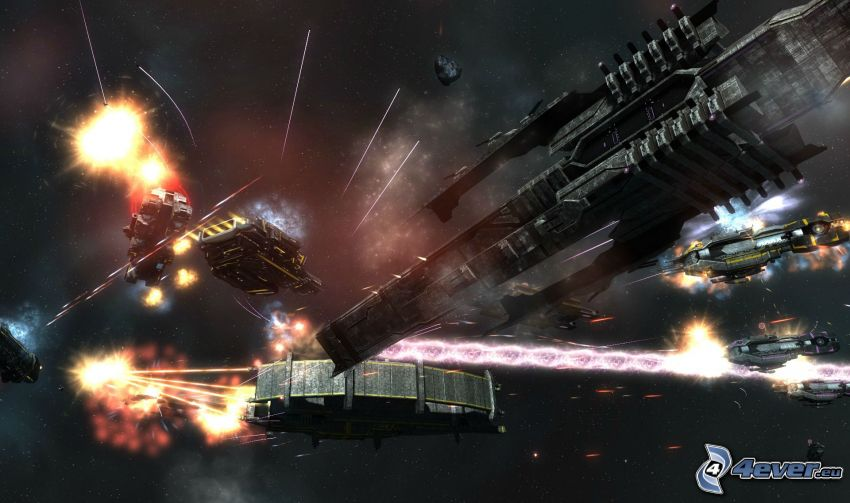 Sins of a Solar Empire: Rebellion, spaceship