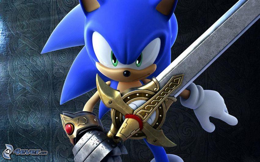 Sonic the Hedgehog, sword