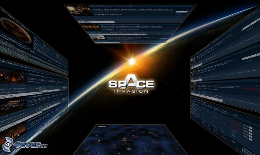 Space Invasion, logo